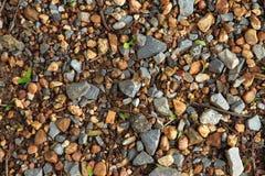 Гравий и меньший камень стоковые фотографии rf