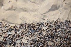 Гравий и песок предпосылки Стоковые Изображения RF