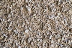 Гравий, камешки и крупный план песка стоковое изображение