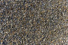 Гравий, камешки как путь прикрепляя, естественный настил, дренаж, бушель стоковые изображения rf