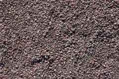 Гравий, камушки и предпосылка крупного плана песка стоковые фото