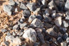 Гравий с песком как предпосылка стоковое фото