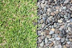 гравий травы Стоковое Изображение