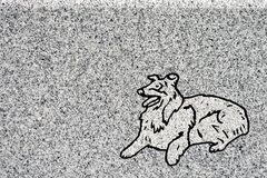 гравировка Коллиы Стоковые Изображения RF