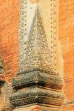 Гравировка стены виска Htilominlo, Bagan, Мьянма Стоковое Изображение RF