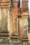 Гравировка стены виска Htilominlo, Bagan, Мьянма Стоковые Изображения RF