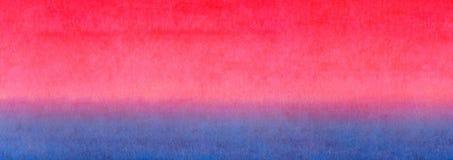 Градиента оранжевого желтого цвета знамени сети предпосылка текстуры акварели знамени красного голубого яркого красочная горизонт Стоковое Фото