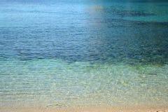 Градиент ionian моря стоковая фотография