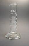 градуированный цилиндр Стоковое фото RF