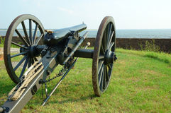 гражданская война canon Стоковые Фотографии RF