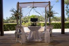 Гражданская установка свадьбы Стоковая Фотография