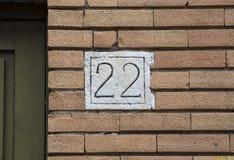Гражданский номер стоковая фотография