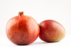 Гранатовое дерево и манго Стоковая Фотография RF