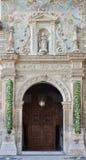 Гранада - портал ренессанса церков st Cecilio Стоковая Фотография