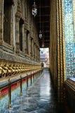 грандиозная веранда дворца Стоковые Изображения