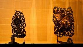 грандиозная тень игры nangyai Стоковое Изображение