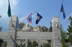 Грандиозная терраса взгляда в мемориале Mount Rushmore национальном стоковые фотографии rf