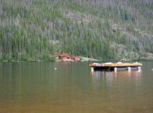 Грандиозное озеро Колорадо Стоковая Фотография