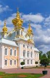 грандиозное peterhof дворца Стоковое Изображение