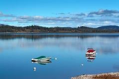 грандиозное teton Вайоминг национального парка озера jenny Стоковая Фотография RF