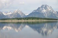 грандиозное teton гор Стоковые Изображения