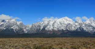 грандиозное teton национального парка гор Стоковые Изображения