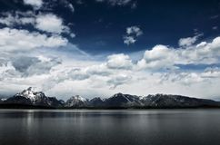 грандиозное teton национального парка Стоковая Фотография RF