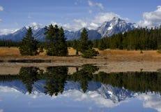 грандиозное teton национального парка Стоковые Фотографии RF
