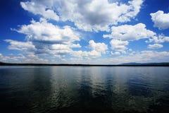 грандиозное teton озера jackson стоковые изображения rf