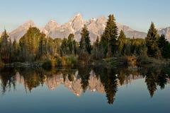 грандиозные tetons национального парка Стоковое Изображение RF