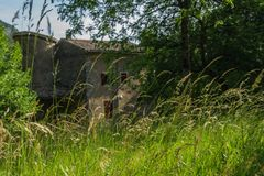 Грандиозные viopis, drome, Франция стоковая фотография