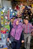 Грандиозный базар в исламской республике Ирана, Тегерана Стоковая Фотография