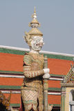 грандиозный висок статуи Стоковые Изображения