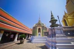 Грандиозный дворец в Бангкоке Таиланда Стоковое фото RF