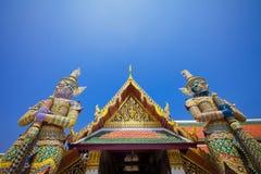 Грандиозный дворец в Бангкоке Таиланда Стоковая Фотография