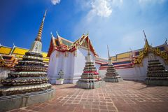 Грандиозный дворец в Бангкоке Таиланда Стоковое Изображение RF