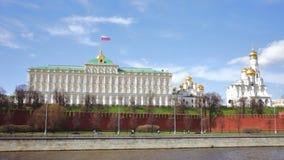 Грандиозный дворец Кремля в Кремле, Москве видеоматериал