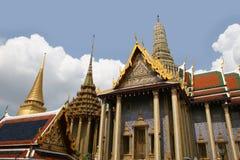 грандиозный дворец Таиланд стоковые изображения rf