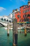 Грандиозный канал красивой Венеции Стоковое Изображение
