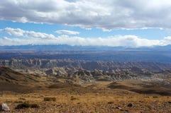 Грандиозный каньон в Тибете Стоковые Фотографии RF