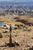 Грандиозный каньон в Тибете Стоковая Фотография RF