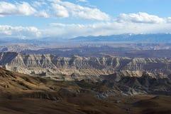 Грандиозный каньон в Тибете Стоковое Изображение