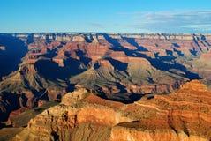 Грандиозный каньон на заходе солнца Стоковое Изображение RF