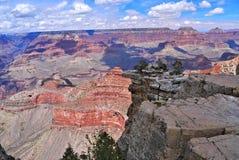 Грандиозный каньон от южной оправы Стоковое Изображение