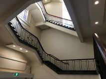 Грандиозный лестничный колодец Стоковое Изображение RF