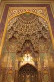 грандиозный маскат мечети стоковое изображение rf