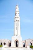 грандиозный маскат Оман мечети Стоковые Изображения