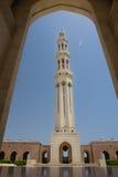 грандиозный султан qaboos Омана маската мечети Стоковое фото RF