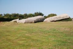 Грандиозный menhir Locmariaquer Стоковая Фотография RF