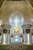 грандиозный zayed шейх мечети стоковые изображения rf